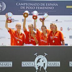 La Quinta se proclama vencedor del Campeonato de España Femenino en Santa María Polo Club