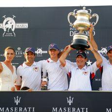 Lechuza Caracas, campeón de la Copa de Plata Maserati de alto hándicap