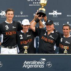 Equus se proclama campeón de la Copa de Oro Aerolíneas Argentinas de mediano hándicap