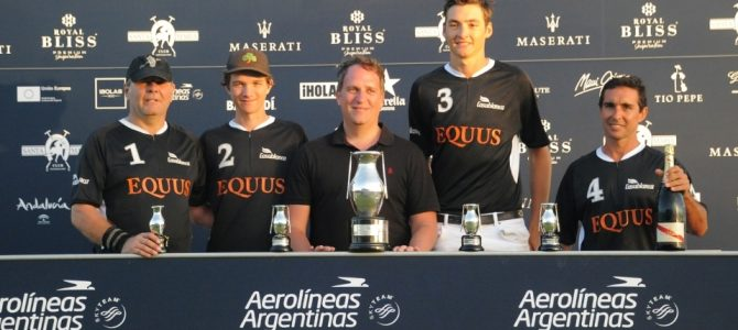 Equus Polo Team, campeón de la Copa de Plata Aerolíneas Argentinas de mediano hándicap