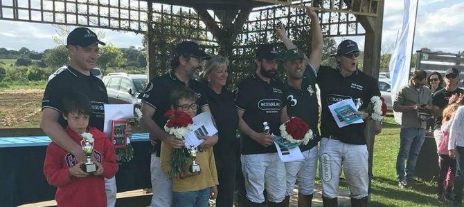 """SCHARLAU ganadores de la """"VI SPRING POLO CUP"""" en el Club de Polo Ampurdan"""