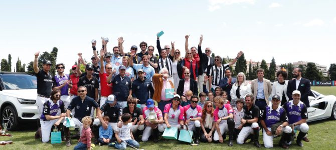 Cibao la Pampa vencedor del 50º Barcelona Polo Challenge Negrita Cup