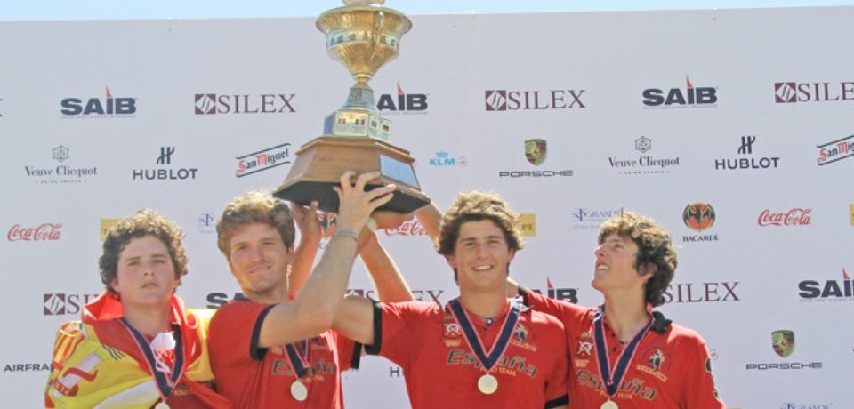España gana el IX campeonato de Europa de Polo