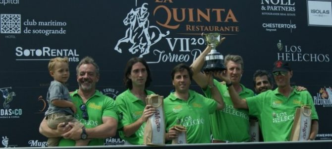 La Reunión-Los Helechos campeón en la VII edición del Torneo de La Quinta