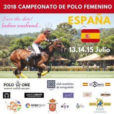 Nueva edición del Campeonato de España Femenino en Santa maría Polo Club