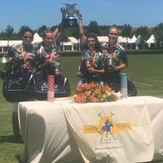Hook Polo, vencedoras del Campeonato de España de Polo Femenino en Santa María Polo Club