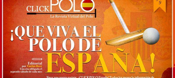 Nace la nueva revista Clickpolo España