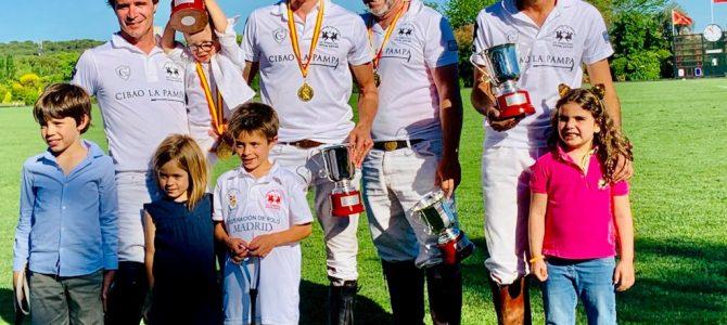 Cibao La Pampa Nuevo Campeón de España Absoluto