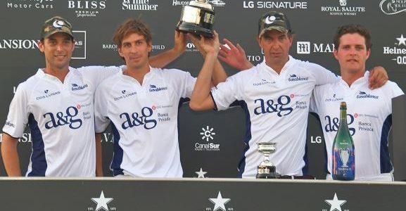 Dos Lunas, ganador de la final de la Copa de Bronce de alto hándicap en Sotogrande