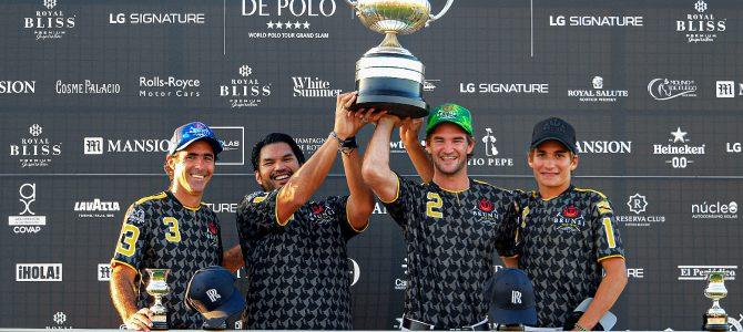 Brunei se proclama campeón de la Copa de Plata Royal Bliss de alto hándicap tras una gran final
