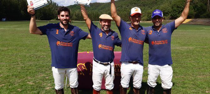 El equipo «Asociación depende de ti» Campeón de España de bajo hándicap 2019