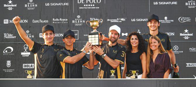 MB Polo conquista la Copa de Oro LG Signature de alto hándicap en una apasionante final