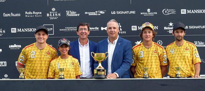 Brunei Polo se proclama vencedor de la Copa de Oro LG Signature de mediano hándicap