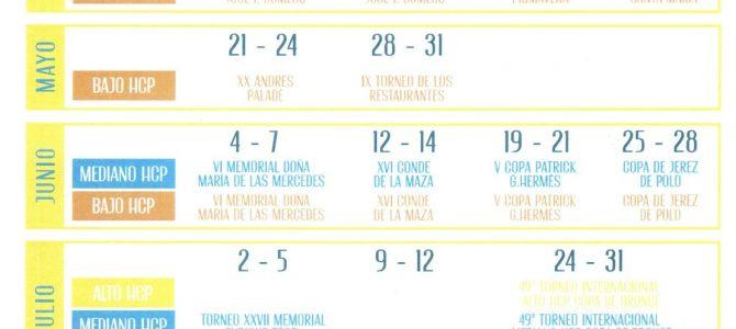 Santa María Polo Club da a conocer su calendario para el 2020